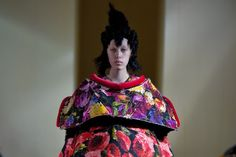 The Paris runways showed that perennial favorite, the floral motif, in a variety of moods, from the familiar folkloric and romantic to sexy and even edgy.