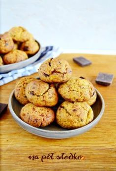 Sugar Free Sweets, Pumpkin Cookies, Healthy Cooking, Deserts, Food And Drink, Gluten Free, Baking, Cake, Recipes