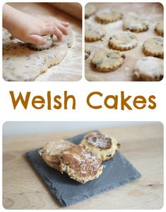 Welsh Cakes for St. A slight variation from a traditional English Victorian afternoon tea but as equally as scrummy. Bara Brith, Welsh Recipes, Welsh Cakes Recipe, Scottish Recipes, Sweet Recipes, Cake Recipes, Saint David's Day, Afternoon Tea, Cooking Recipes
