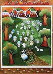 Finland - Nokkala - Sheep with Socks Naive, Funny Art, Love Art, Finland, Sheep, Illustrators, Art For Kids, Fairy Tales, Artsy