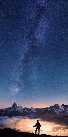 Above the clouds - under the stars - Zermatt, Switzerland
