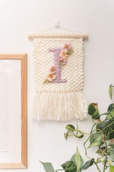Custom letter wall hangings, Personalised tapestry, Nursery Decor , Baby Shower present Baby Shower Presents, Letter Wall, Wall Hangings, Ladder Decor, Nursery Decor, Playroom, Personalized Gifts, Tapestry, Colours