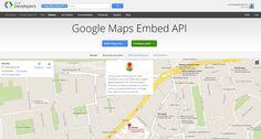 Google lanza Maps Embed API para que los desarrolladores incrusten mapas personalizados en sitios web