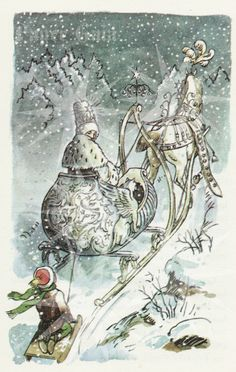 ...the snow queen illustration