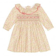 Villarta girl smock dress