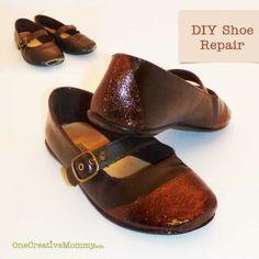 Shoe Repair Before & After