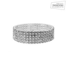 I found this amazing Swarovski Elements 5 Tier Crystal Bracelet with Free Gift at nomorerack.com for 92% off. Sign up now and receive 10 dollars off your first purchase
