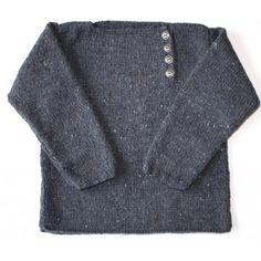 patron tricot pull garcon gratuit