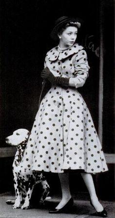 1950s polka dots