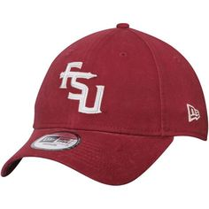 online retailer b9b6a c8a08 Florida State Seminoles New Era Relaxed 49FORTY Fitted Hat - Garnet