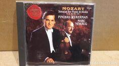 MOZART. SONATAS FOR PIANO & VIOLIN / PINCHAS ZUKERMAN / MARC NEIKRUG. CD DE LUJO.
