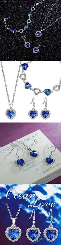 Valentines Jewelry: Valentines Day Gifts, Mothers Day Gifts, Titanic Jewelry Heart Of The Ocean Sa BUY IT NOW ONLY: $51.22