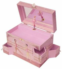 Enchantmints Ballet School Music Box: Toys & Games http://toysandgames-learningandeducation.blogspot.com/2013/12/toys-games-for-2-4-year-olds-shop.html #2_to_4-years-old_toys, #games_fo_toddlers, #toddler_toys, #toddler_learning_toys