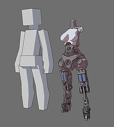 Robot Character Design Character Design Challenge, Character Design Cartoon, 3d Model Character, Character Sketches, Character Modeling, Character Concept, Robot Concept Art, Robot Art, Blender 3d