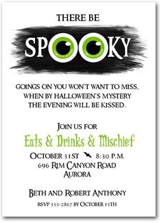 Party: Halloween Party Invitation Wording As An Alternative For Your Divine Party Invitations 6