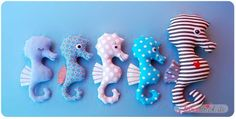 Seahorse Sewing Pattern PDF Softie Toy by binenstich on Etsy Sewing Toys, Baby Sewing, Fabric Toys, Fabric Crafts, Baby Knitting Patterns, Sewing Patterns, Sewing Projects, Projects To Try, Porte Clef