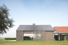 This Converted Bunker is the Perfect Blend of Architecture and History - Nordic Design Casa Bunker, Bunker Home, Modern Barn, Modern Farmhouse, Rustic Modern, Brick Siding, Prefab Cabins, Built Environment, Nordic Design