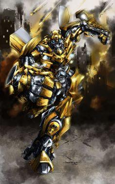 Bumblebee by aerlixir.deviantart.com