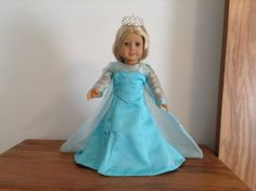 Frozen Elsa dress inspired by Disney for American by WelchWorks, $25.00