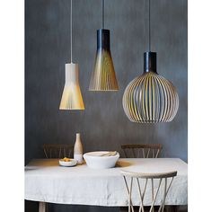 BuySecto 4200 Ceiling Light, Birch Online at johnlewis.com