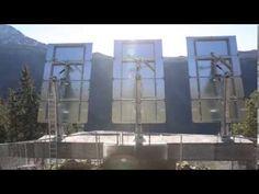 Sprø ide skal lyse opp Rjukan - YouTube
