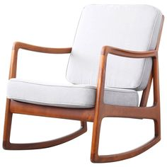 modern selig rocking chair pesquisa google woodwork wishlist