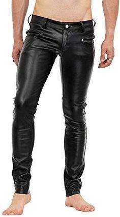 Bockle Stretch Pants Lamb Leatherjeans Men Pants Leather Jeans New Mens Leather Pants, Cow Leather, Skinny, Leather Fashion, Men Fashion, Men Trousers, Men Pants, Latex Men, Black Joggers