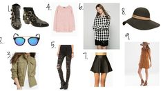Fashion: Fall Essentials
