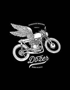 Black'n'White II by Ooli Mos, via Behance Motorcycle Art, Bike Art, Logo Inspiration, Daily Inspiration, Vintage Helmet, Retro Logos, Graphic Design Illustration, Vintage Posters, Illustrations Posters