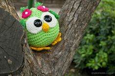 clases tejido crochet, patrones gratis, amigurumis Amigurumi Patterns, Crochet Patterns, Free Crochet, Crochet Hats, Top Pattern, Projects To Try, Bird, Christmas Ornaments, Knitting