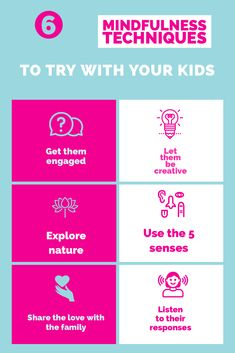 Simple ideas to get your kids involved in being more mindful. For lots more Mindful Parenting ideas then head to the website, which is packed full of FREE parenting resources.