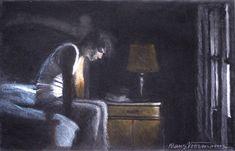 """""""Stuart's Last Sunset"""" by Klaus Voormann"""