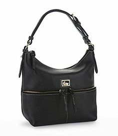 Dooney and Bourke Dillen II Leather Hobo Bag #Dillards