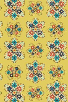 Forget Me Not pattern. Click picture or link to download it from my profile page on Colourlovers.