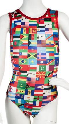 Flags of the World Leotard - Destira.com