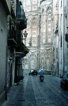 backstreet view of a cathedral in santicelli, sicily  by ankaatje | via eurotripper