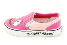 $34.99 VANS YO GABBA GABBA CLASSIC SLIP-ON, (FOOFA FACE) PINK, VN-0LYG54X
