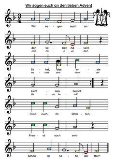 Advent download klaviernoten wir den sagen lieben euch an