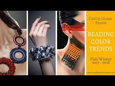 Video! BEADING COLOR TRENDS A17/ W18 Czech Glass Beads     #dawanda #dawanda_de #dawandashop #etsy #etsyshop #etsystore #etsyfinds #etsyseller #amazon #amazondeals #alittlemercerie #colortrend #colortrends #falltrends #trends2017 #falltrends2017 #wintertrends #trends2018 #czechbeads #glassbeads #czechglassbeads #czechglassjewelry