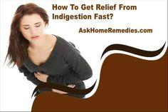 This video describes about how to get relief from indigestion fast. You can find more detail about Arozyme capsules at http://www.askhomeremedies.com