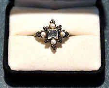 Nuevo 19mm//60 triple anillo color oro//plata//rotgold trío anillo tricolor anillo de mujer