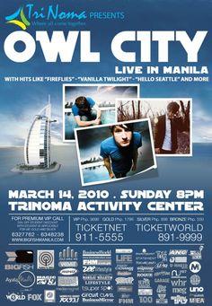 Owl City - Concert # 4