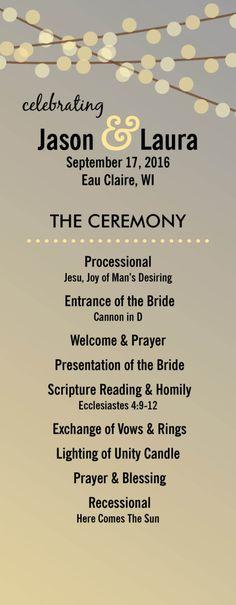 Non Religious Ceremony