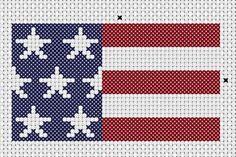 Cross Stitch Borders Stars and Stripes free patriotic cross stitch pattern Cross Stitch Borders, Cross Stitch Charts, Cross Stitch Designs, Cross Stitching, Cross Stitch Embroidery, Embroidery Patterns, Cross Stitch Patterns, Cross Stitch Freebies, Cross Stitch Needles