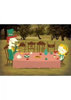 Poster Alice no País da Maravilhas