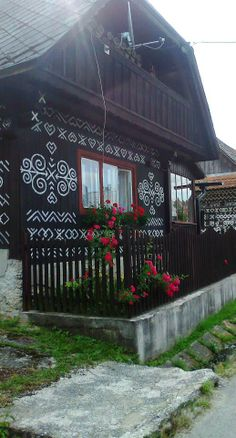 Čičmany , Slovakia Bratislava, Heart Of Europe, Architectural Features, European Countries, Central Europe, Eastern Europe, Czech Republic, Homeland, Hungary