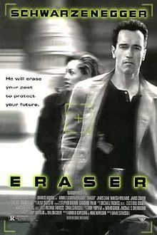Watch Eraser full hd online Directed by Chuck Russell. With Arnold Schwarzenegger, Vanessa Williams, James Caan, James Coburn. A Witness Protection specialist becomes suspicious of his co-wor Best Action Movies, Great Movies, Movies Free, Excellent Movies, Arnold Schwarzenegger, Internet Movies, Movies Online, Peliculas Audio Latino Online, Vanessa Williams
