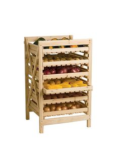 An Orchard Rack is the Time-Tested Way to Store Your Harvest
