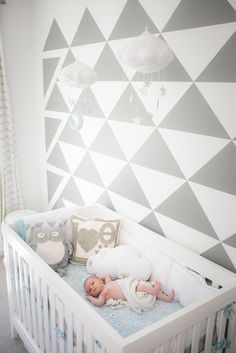 Starry Cloud Nursery by Baby Jives Co