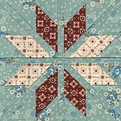 Fair Isle Star - Paper Piecing star quilt pattern, inspired by the traditional Scandinavian knitting Star Quilt Blocks, Star Quilt Patterns, Paper Piecing Patterns, Star Quilts, Pattern Blocks, Bird Patterns, Quilting Tutorials, Quilting Projects, Quilting Designs